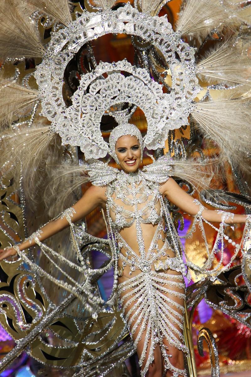Karnevalskönigin Aranzazu Estévez aus dem Jahr 2014